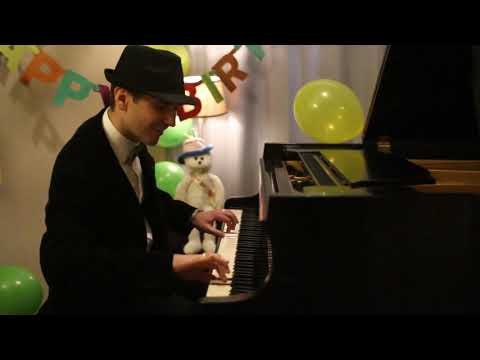 Happy Birthday! - Jazzy Piano Arrangement By Jonny May