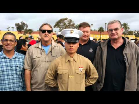 MCRD  San Diego Graduation 15 Jan 2016
