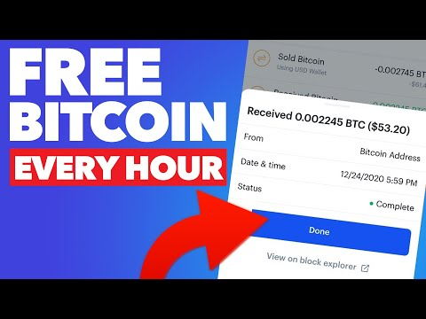How To Earn FREE BITCOIN Every Hour [NO INVESTMENT] Make Money Online