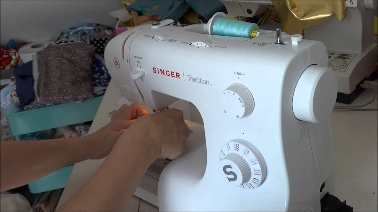 Aprender a coser a máquina, Singer TRADITION - YouTube