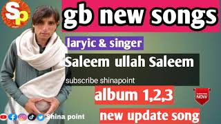 Saleem ullah Saleem || album 1,2,3 || gb song || new update