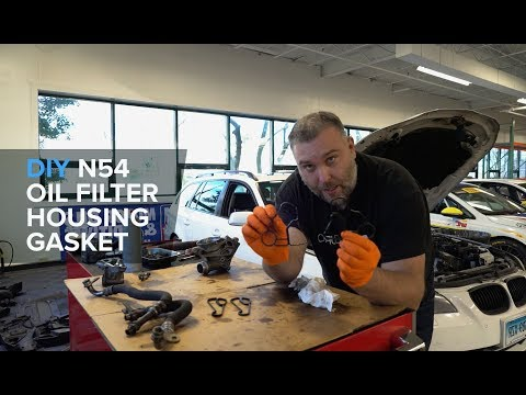 How To Replace An Oil Filter Housing Gasket On A BMW N54