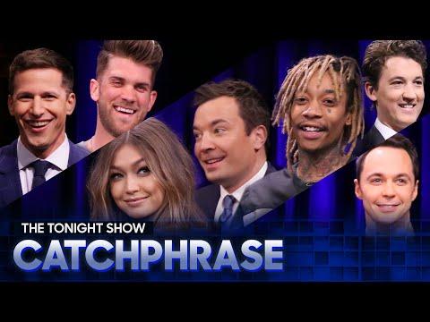 Tonight Show Catchphrase with Andy Samberg, Gigi Hadid, Jim ParsonsandMore