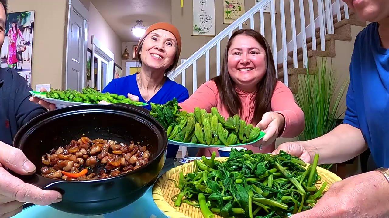 Vlog 343|| Thời EMVY ở Mỹ🇺🇸Có Gì Lạ Bữa Ăn Theo Cách Quê Nhà Ấm Lòng Tình Đồng Hương Cái Kết Là...