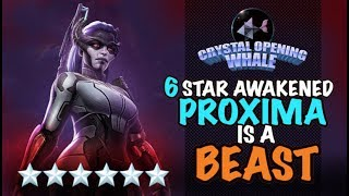 6 Star Awakened Proxima Midnight is an Attack God-Marvel Contest of Champions