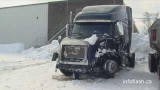 Accident autoroute 20 à Rimouski