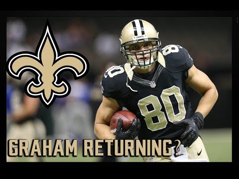 Will Saints Sign TE Jimmy Graham In Free Agency?! - All The Facts