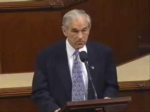 Ron Paul: What If? (speech on House floor 2/12/09)