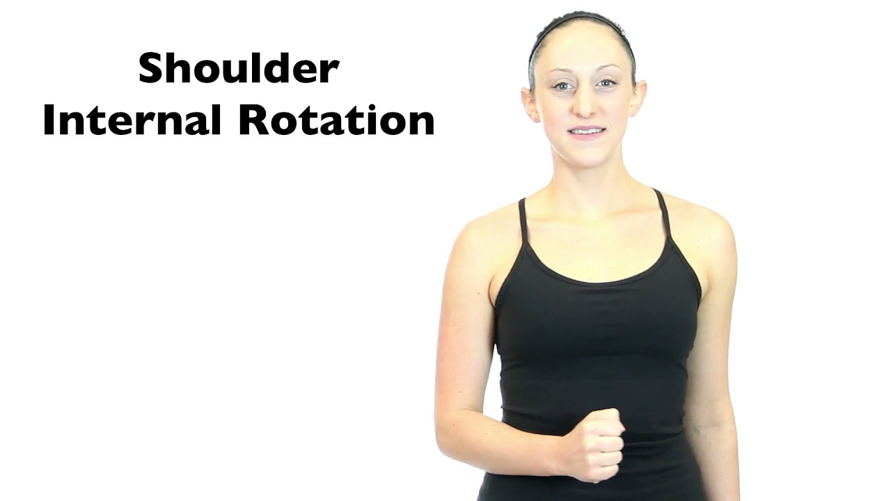 Shoulder Internal Rotation - YouTube