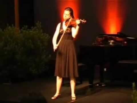 Tessa Lark | Bach Grave in A min | Michael Hill International Violin Competition | 2009