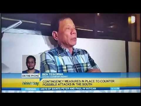 Terror threat in Mindanao