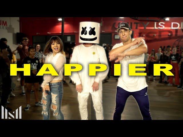 MARSHMELLO - HAPPIER Dance | Matt Steffanina & Bailey Choreography