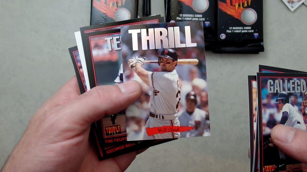 1993 Donruss Triple Play Baseball Box Break