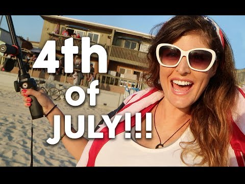 JULY 4th in SAN DIEGO // DJI OSMO meets PACIFIC BEACH