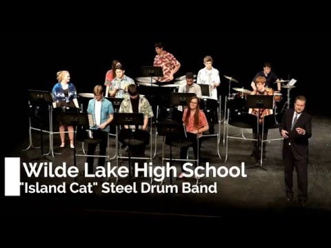 "2015-2016 Wilde Lake High School ""Island Cats"" Steel Drum Band"