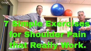 7 Simple Exercises for Shoulder Pain That Really Work (Impingement, Tendonitis, Arthritis)