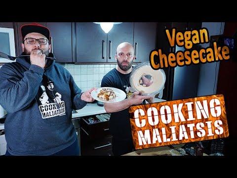 Cooking Maliatsis - 130 - Vegan Cheesecake