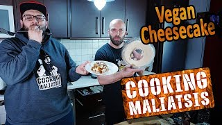Cooking Maliatsis - 130 - Vegan Cheesecake