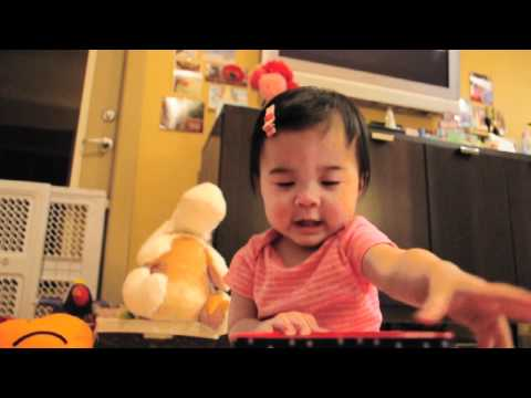 Amazing 8 month old baby - JACK IN THE BOX - The Movie