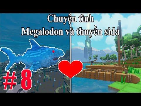 PixARK #8 : Chuyện tình Megaladon và chiếc thuyền Made in China  ❤