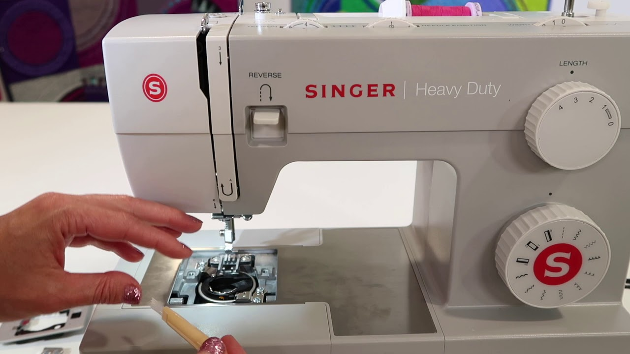 Singer 4411 Heavy Duty 8 Cleaning Maintenance Youtube