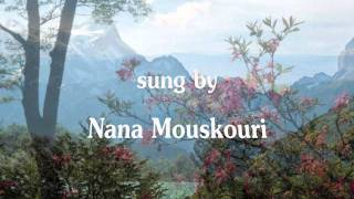 Nana Mouskouri - Only Love