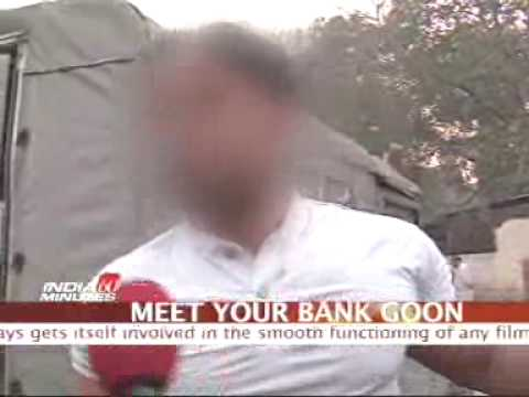 Recovery Agents Are Not Goons Icici