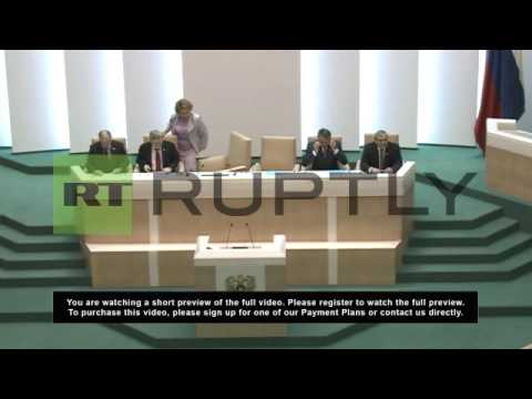 Russia: Upper Chamber denounce Ukraine Black Sea Fleet agreement