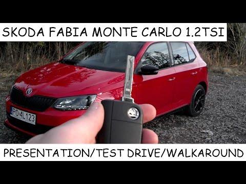 2016 Skoda Fabia Monte Carlo 1.2 TSI (110hp) - presentation, test drive, walkaround, soundcheck