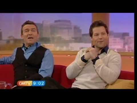 GMTV  Bradley Walsh and Jamie Bamber 20.02.09
