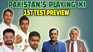 Pakistan's playing XI | 1st Test Preview | Caught Behind