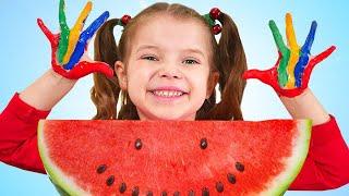 Wash Hands Healthy Habits Song   Nicole Sing-Along Nursery Rhymes Kids Songs