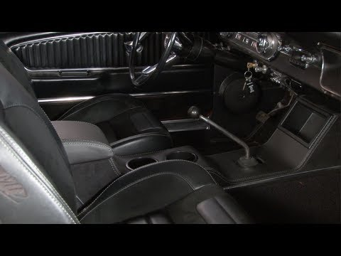 Mustang TMI Sport R Center Console 1965-1966 Installation