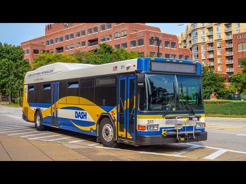 DASH Alexandria Transit Company 2017 Gillig Low Floor Advantage Hybrid #311