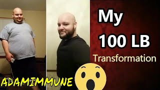 How I Lost over 100 lbs NATURALLY - My Transformation story (lots of pictures)