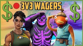 🔴3V3 WAGERS (ft. Anbu,Anonymous ) / FORTNITE BATTLE ROYALE (Code d'utilisation : iz-grypas)