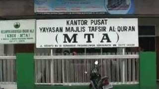 Mengenal MTA - Majlis Tafsir Al Quran.DAT