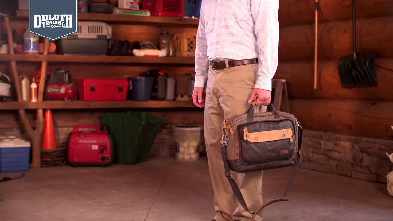 c9d2b5f0f7e03 Duluth Trading The Beefcase™ Convertible Bag - YouTube