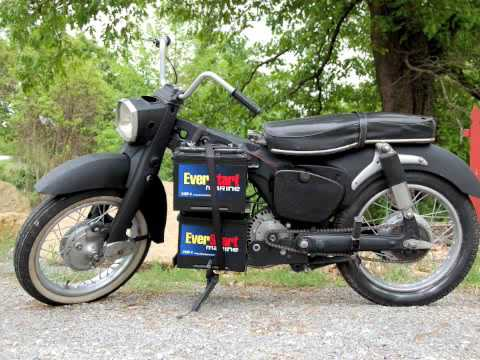 Electric Motorcycle Conversion - 67' Honda Dream - YouTube