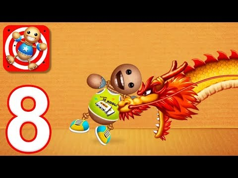 Kick the Buddy - Gameplay Walkthrough Part 8 - All China Town Weapons (iOS)