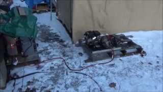 Charging Off Grid Solar Forklift Battery And Vehicle Work