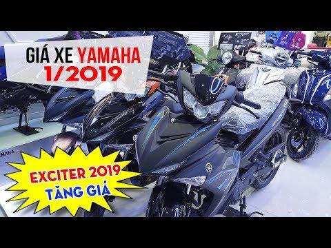 Giá Xe Yamaha Tháng 1/2019 ▶ Exciter 150 2019 Tăng Giá Chờ Tết Nguyên Đán