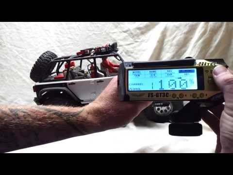 The Easiest Way To Run a Winch With Flysky Radio (No Hack)