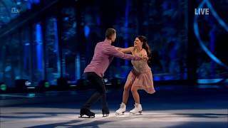 Saara Aalto and Hamish Gaman - Dancing on Ice week 6 - Full performance - Dancing in the dark