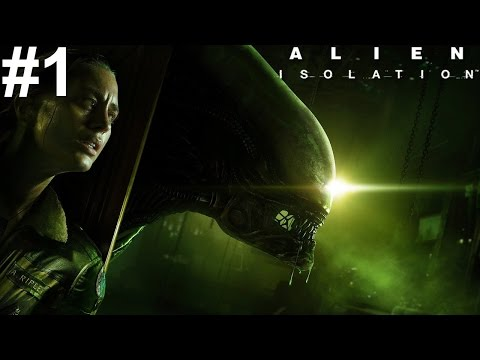 Alien Isolation Xbox One Gameplay #1 [High In Tension, Slow In Pace]