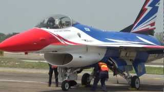 "RTAF F-16 ""Hollywood"" SOLO @ Chiang Mai"