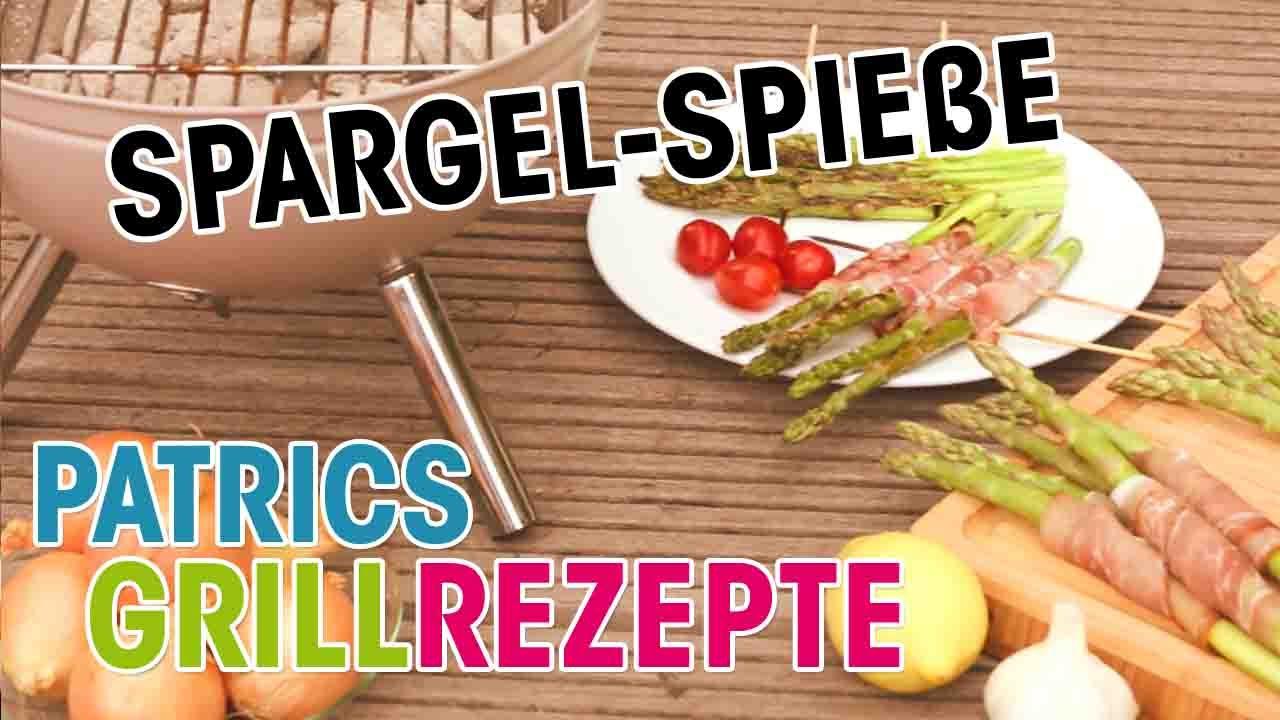 Grüner Spargel Vom Grill Leckere Grillrezepte Von Patric Heizmann