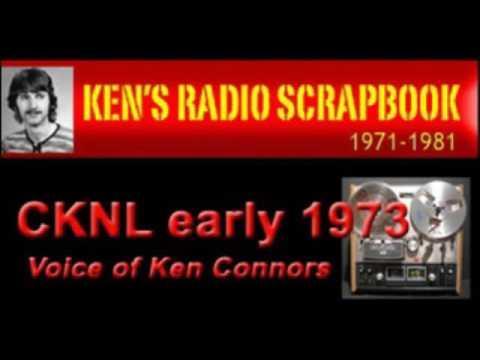 CKNL RADIO  Ken Connors Radio Show - Fort St John BC - 1973 ARCHIVED RADIO