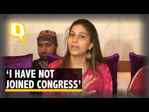 2019 Election: Haryanvi Singer-Dancer Sapna Choudhary Denies Joining Congress | The Quint