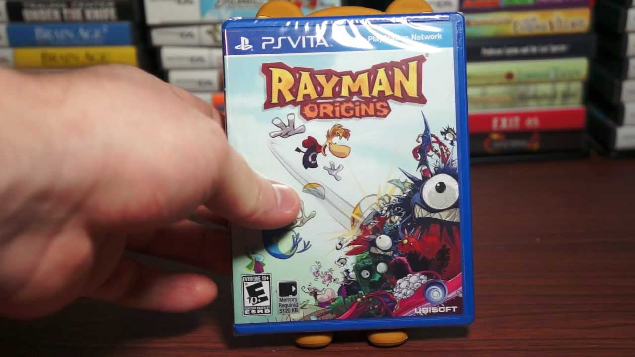 Rayman Origins Ps Vita Unboxing 68 Or 69 Hd Youtube Switch Legends English Pal Games